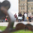 Marche pour la science à Ottawa: mitose d'une colère