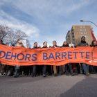 Québec solidaire prend la rue contre Gaetan Barrette