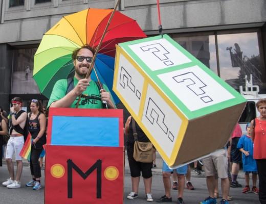 Gaymers, défilé Fierté LGBTQ 2017